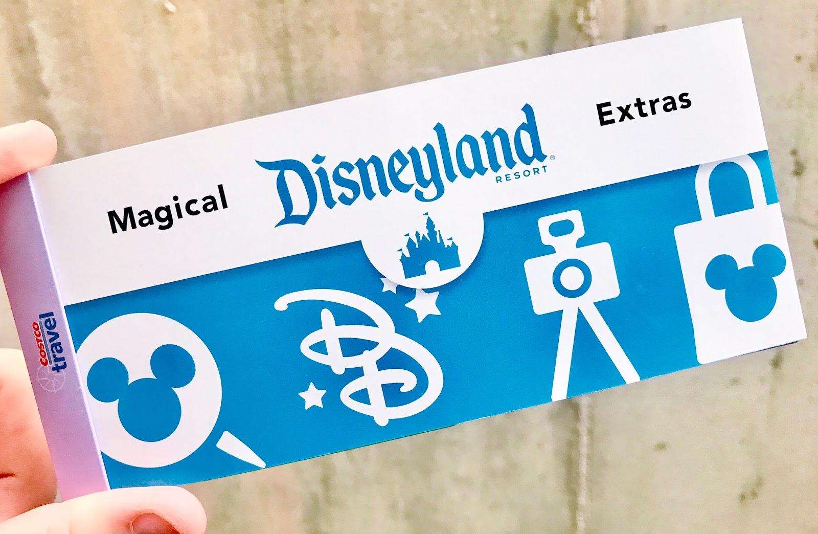 Our Costco Disneyland Package  elyse