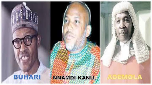 EXPOSED!!! BIAFRA LEADER NNAMDI KANU IS ONE OF THE CORE REASON WHY DSS ARRESTED JUSTICE ADEMOLA [SEE PROOF]