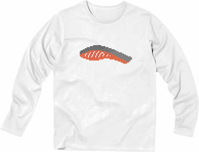 Pixel Party Boy「Tシャケ」[Stylish Long sleeve] 4.3oz | T-SHIRT COUNCIL