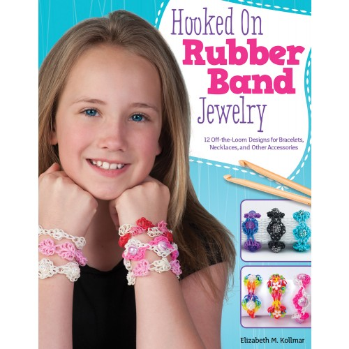 Hooked on Rubber Band Jewelry @craftsavvy @createoften #craftwarehouse #loombands #rubberbandbracelets #noloom