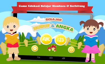 Aplikasi belajar huruf