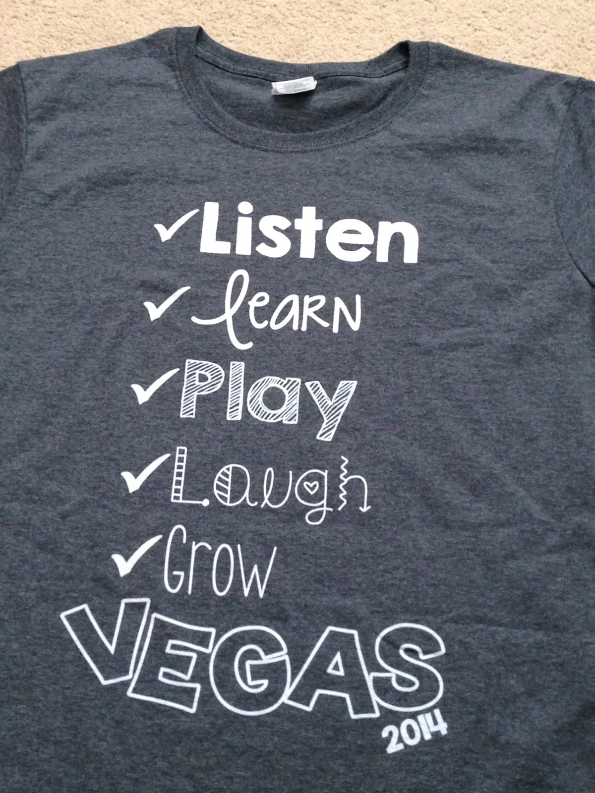 tshirt for Las Vegas