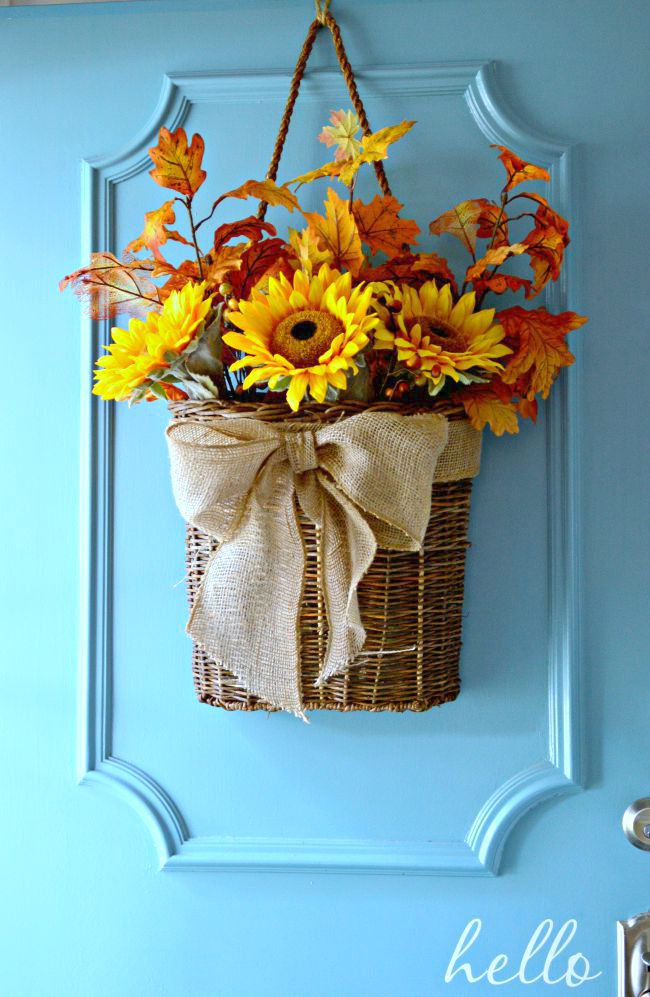 Our hopeful home 10 awesome fall decorating ideas for Idea door yw