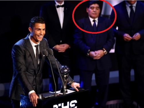 'Giving FIFA award to Ronaldo and not Messi, hurt my soul' – Football legend, Diego Maradona
