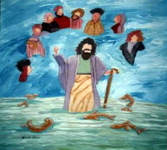 Crossing The Red Sea Craft For Preschoolers Free