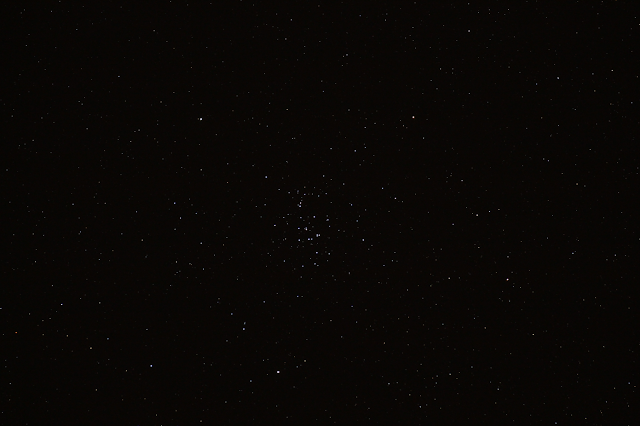 The beehive cluster (M44) at Cancer.