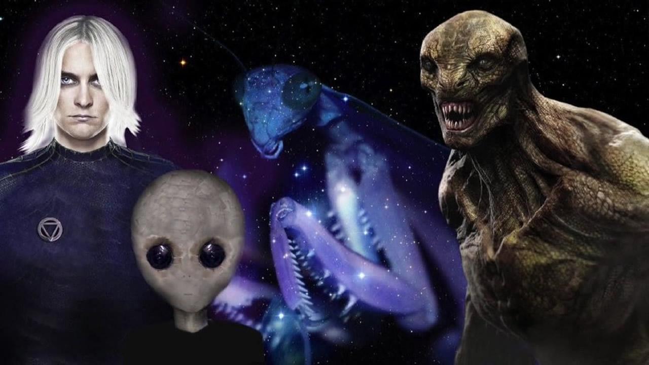 Las infinitas formas que adoptan las razas alienígenas, el Universo no tiene límites