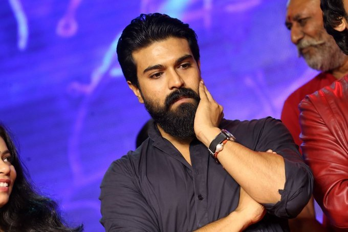 Ram Charan Teja graces Srivalli Telugu Movie Pre Release Event Pictures Gallery