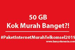 50 GB Murah Banget! Begini Cara Dapet Paket Internet Murah Telkomsel 2019
