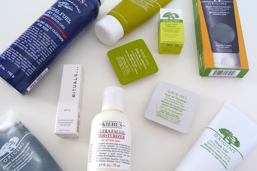 an image of house of fraser skincare haul