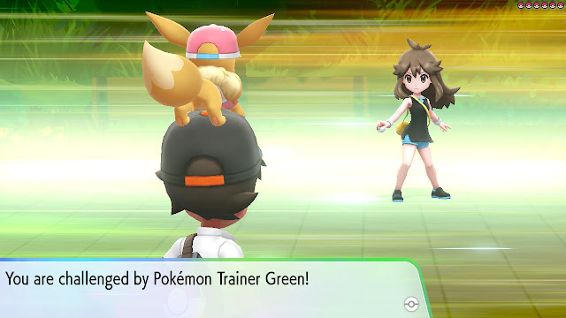 What is left to do in Pokémon Let's Go Pikachu/Eevee? Re-Battle Trainers
