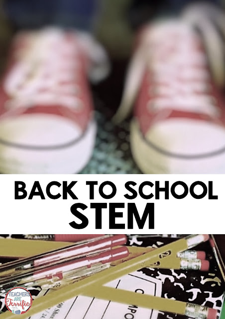If you are looking for some quick and easy STEM challenges to start off the school year this blog post will show you several!