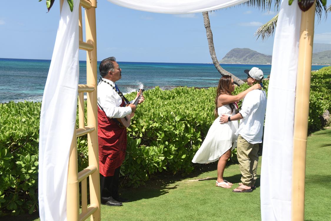 Ko Olina Beach Weddings Feb 20 Wedding