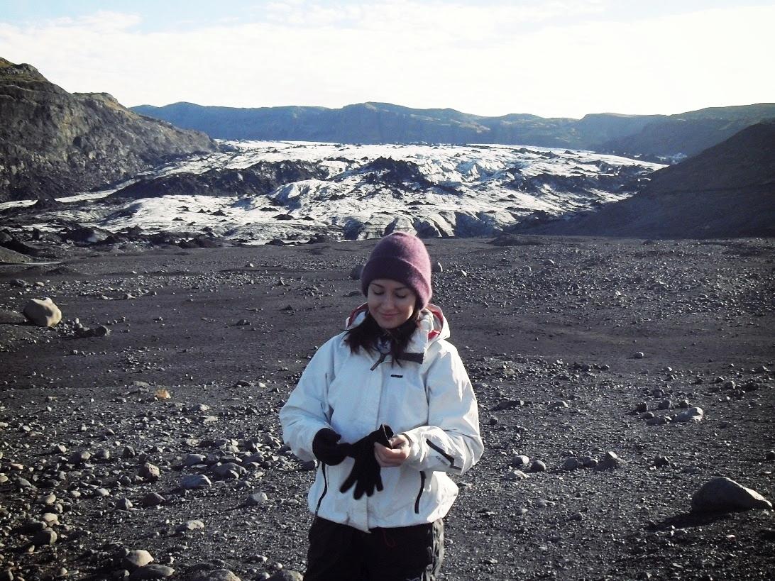 Lodowiec Solheimajokull Islandia, lodowiec, Islandia, glacier walking, krajobraz, góry