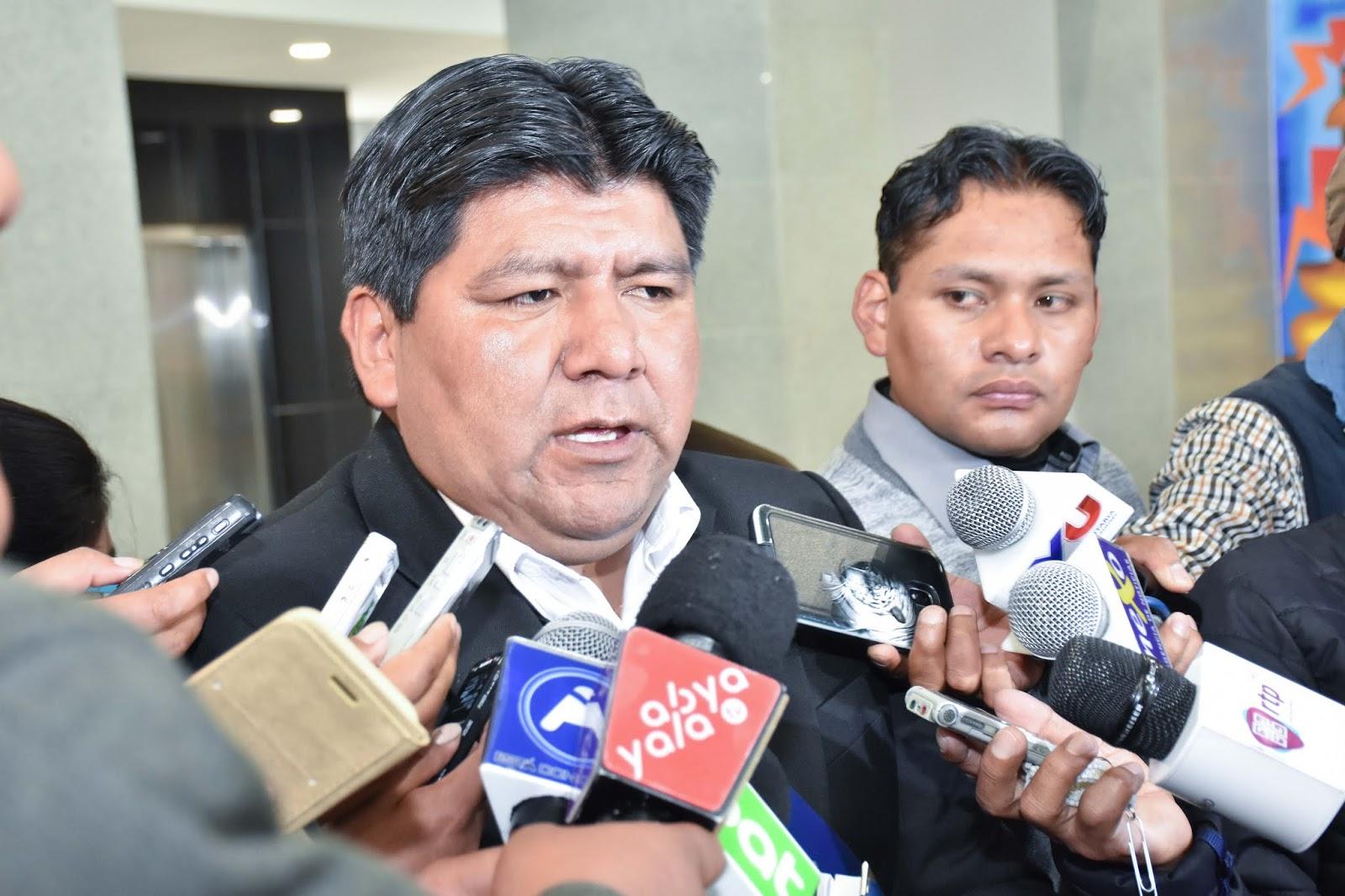 Medrano logró cita con Morales luego de las movilizaciones de abril y mayo / ABI