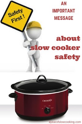 If you use a crockpot you're going to need to read this. Safety first, always!