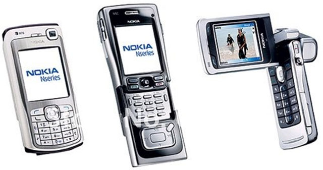 Handphone Jadul Dengan Desain Terunik
