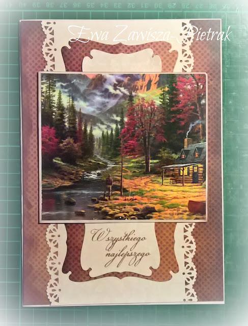Jesienna kartka dla przyjaciela