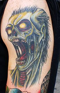tato zombie keren terbaik