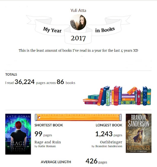 My Year 2017 in Books
