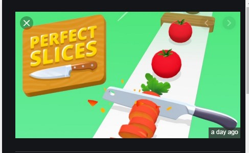 Perfect slices Apk Mod Free on Android Game Download