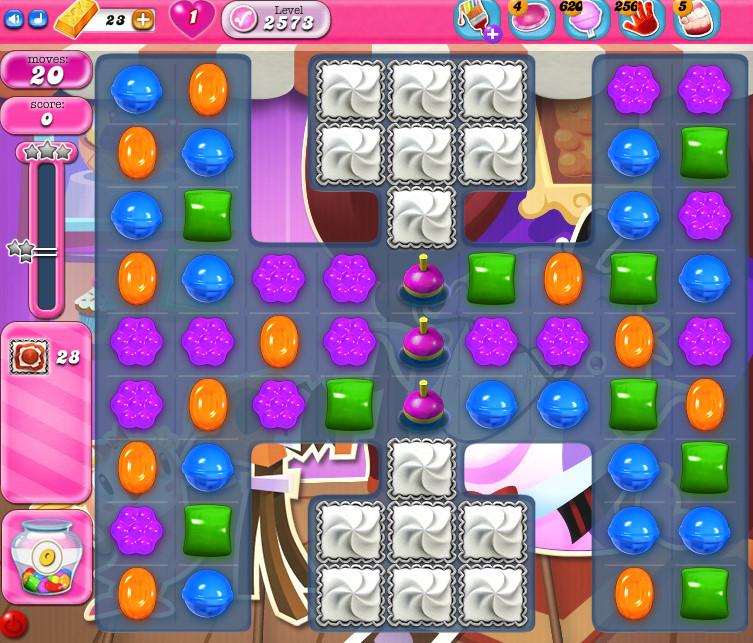 Candy Crush Saga level 2573