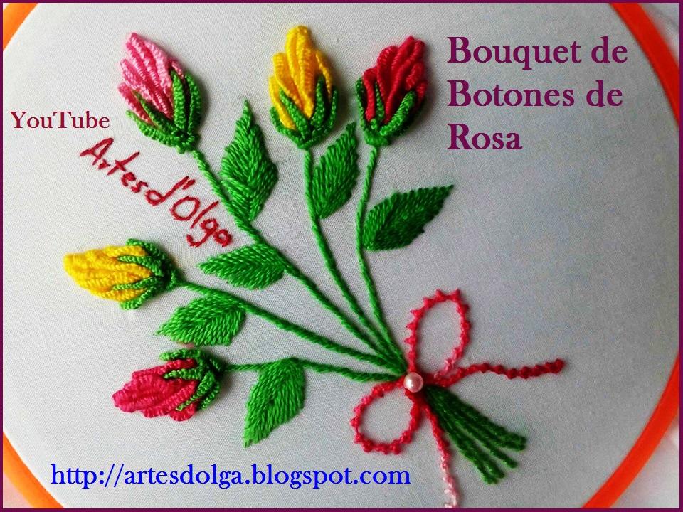 Artesd\'Olga: Bouquet de Botones de Rosa | Artesd\'Olga