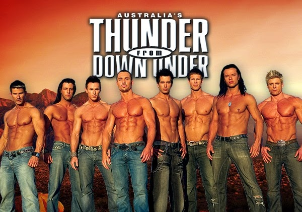 Show Thunder from Down Under em Las Vegas