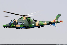 BREAKING - Nigerian Air Force helicopter suffers technical mishap, crashes into water