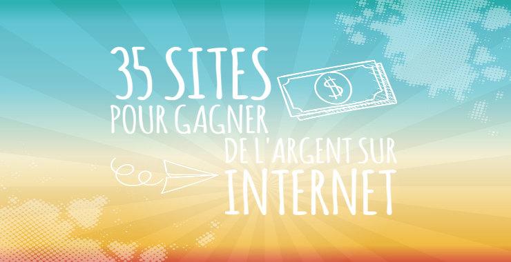 Sites pour gagner de l'argent sur internet gratuitement