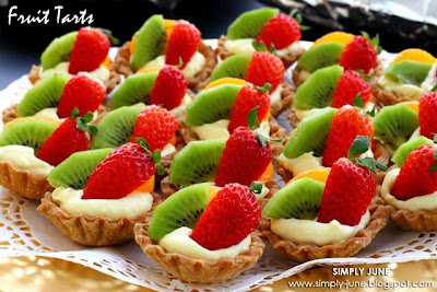 Cara membuat Fruit Tartlet