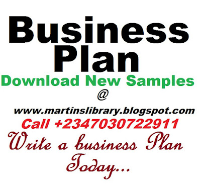 Business Plan Sample New Business Planning Template Examples And