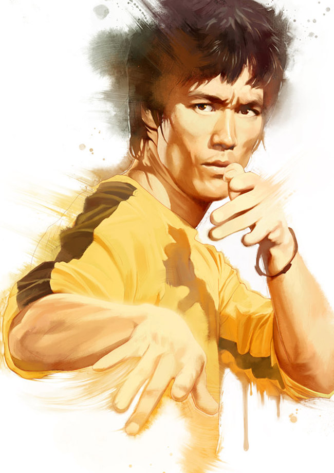 SingHooi Lim (Malaysia) - Bruce Lee art collection @ YellowMenace