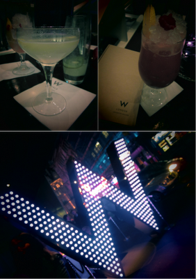 W Hotel Leicester Square Cocktail Bar Review