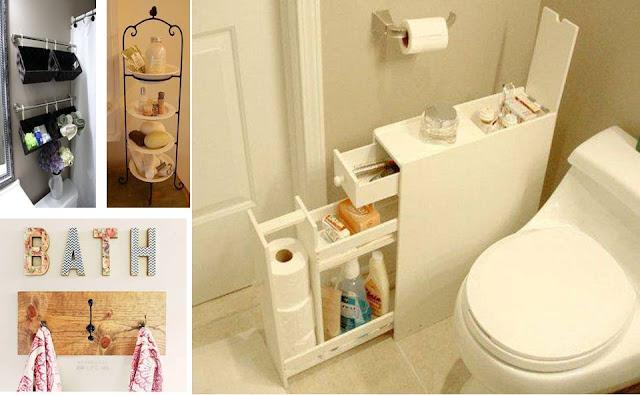 Genius Bathroom Storage & Organize Ideas