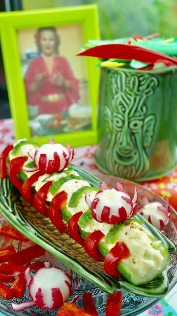 Fanny Cradock Cucumber Salad