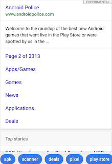 Google Lightweight App for slow internet connections