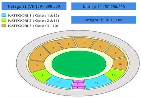 harga tiket semifinal piala aff 2016 indonesia vs vietnam