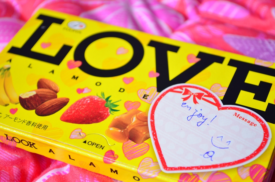 dulciuri japoneze ciocolata love