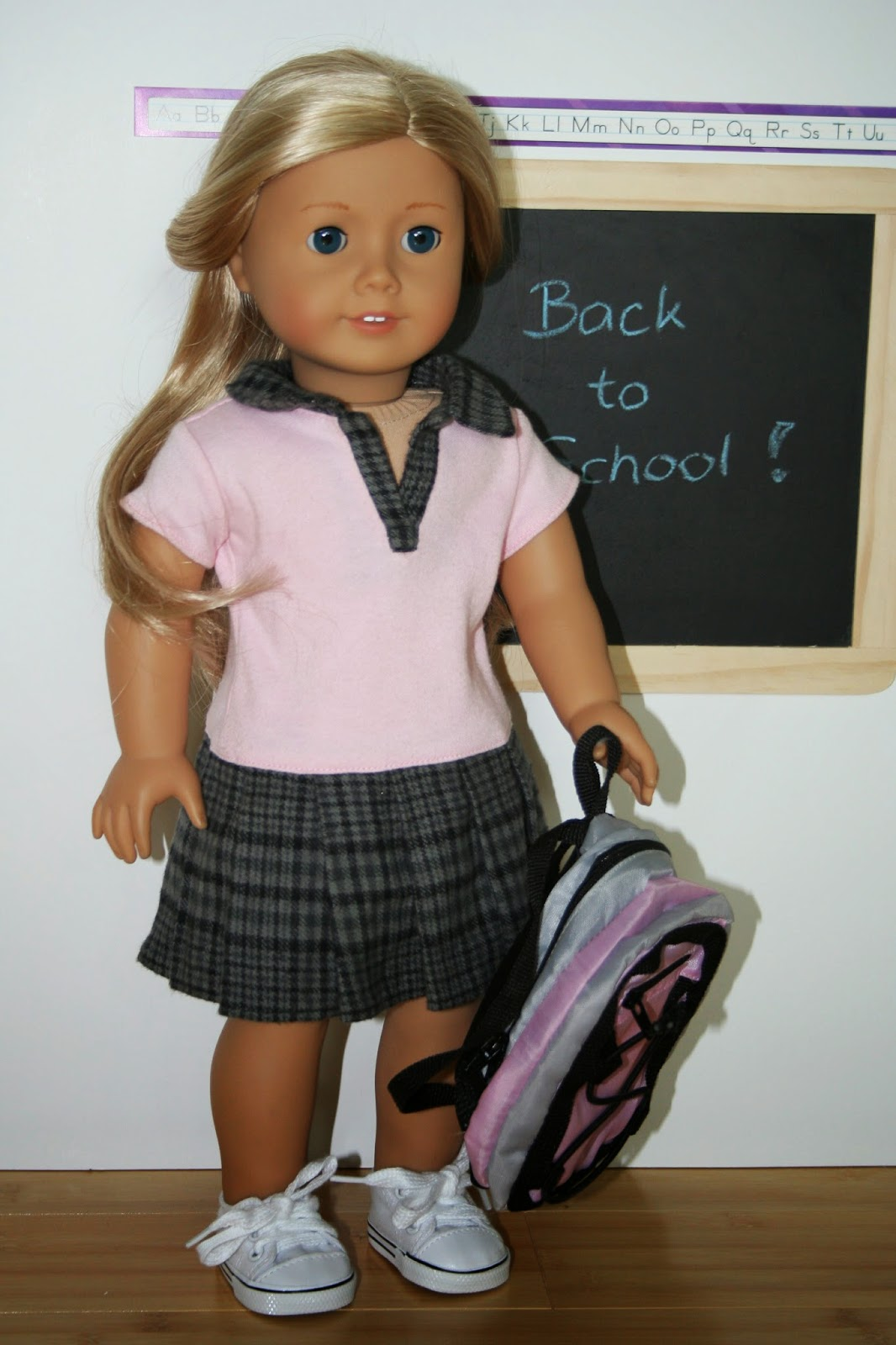 Arts And Crafts For Your American Girl Doll School Outfit