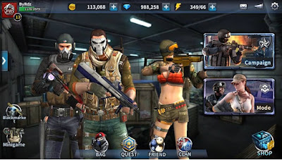 Point Blank Mobile Unreleased APK Gratis Terbaru