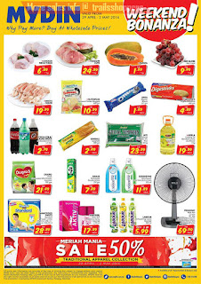 Mydin Weekend Bonanza Offer