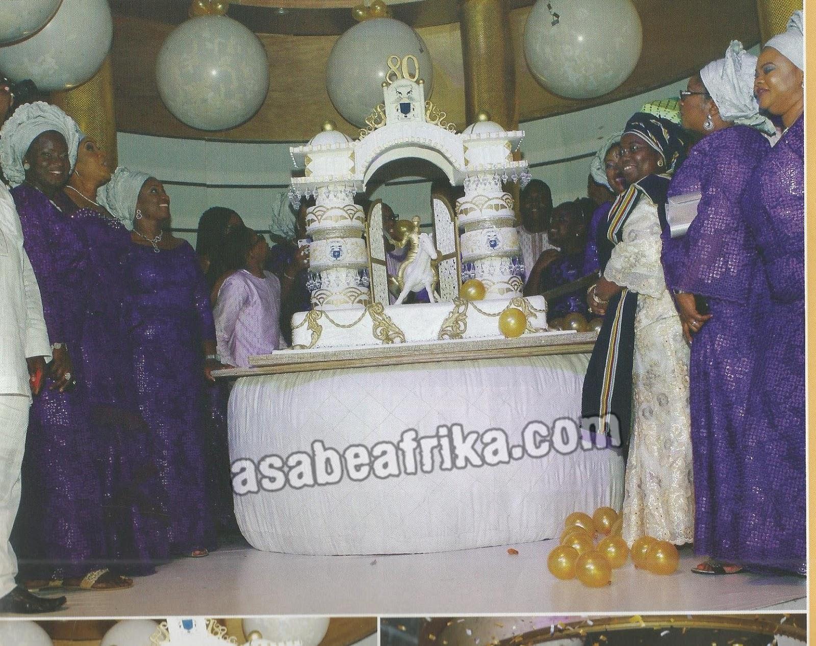 Billionaire Lotto Merchant, Kesington Adebutu aka Baba Ijebu