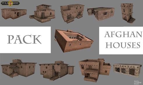 Arma3用アフガンのLythiumマップMOD