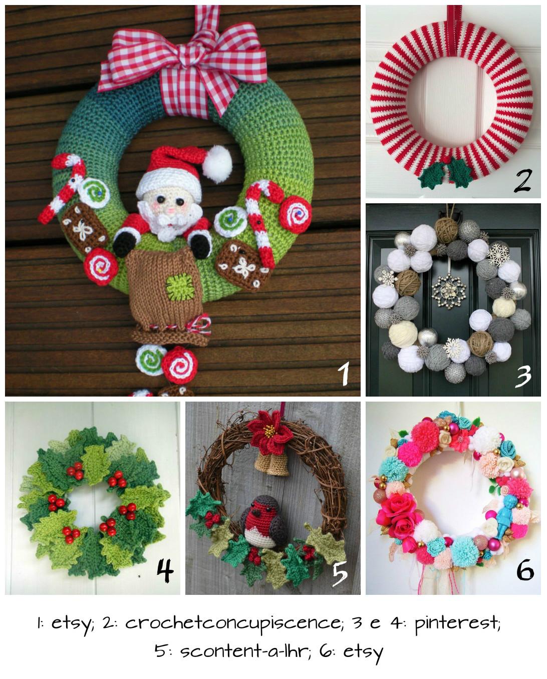 Coleção De Natal de Crochê - Fio Amigurumi - Blog do Bazar Horizonte | 1356x1092