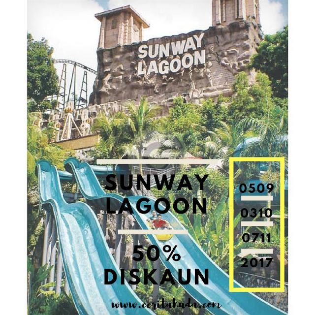 Tiket Sunway Lagoon Diskaun 50%