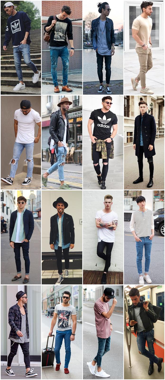 c504e0bb7 Para quem acha que a calça skinny não se encontra nos modelos sociais está  muito enganado. As roupas sociais tendem a ter a medida sempre correta