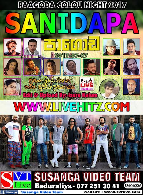 SANIDAPA LIVE IN PAGODA 2017-07-07