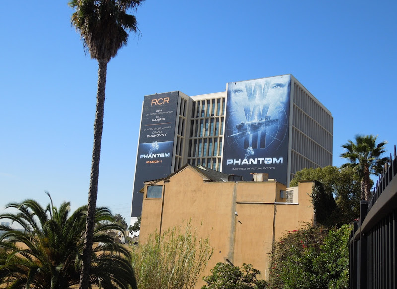 Phantom movie billboards