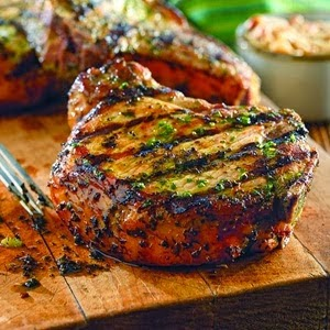 recipe for grilled chops